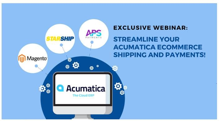 Acumatica ecommerce shipping and payments