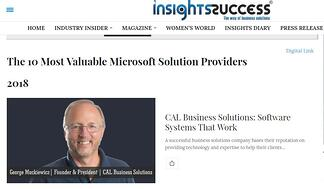 Cal Business Insights Sucess Article