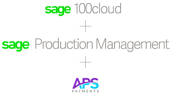 Sage Production Management